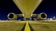 Loading cargo to cargo airplane, Time Lapse