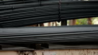 loading Steel rebar