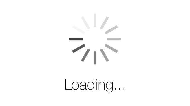 Loading symbol loop.