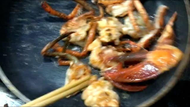 Lobster Stir Fried Butter