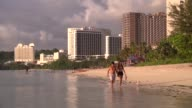 Local business owners and workers in Guam react to the North Korean missile threat and share their views on its effect on local tourism and business