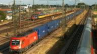 HA Local Passenger Train Passing Goods Station