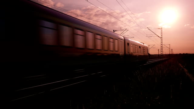 PAN Local Train Passing By (4K/UHD to HD)