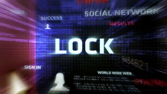 Lock Button (Dark)