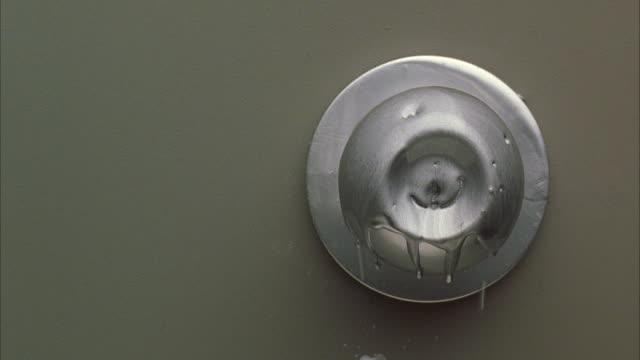 CU Lock melting on door / Unspecified