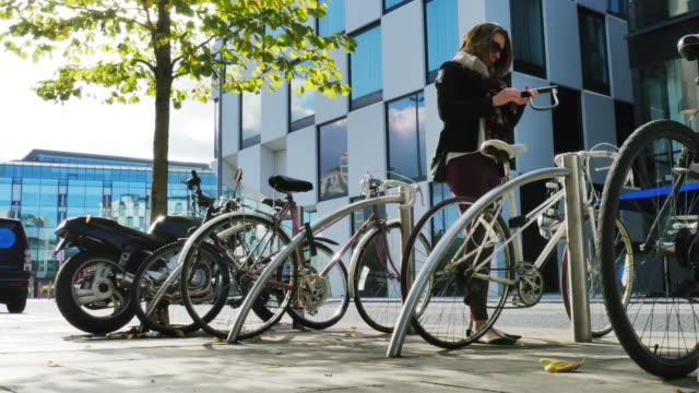Bloccaggio di bicicletta