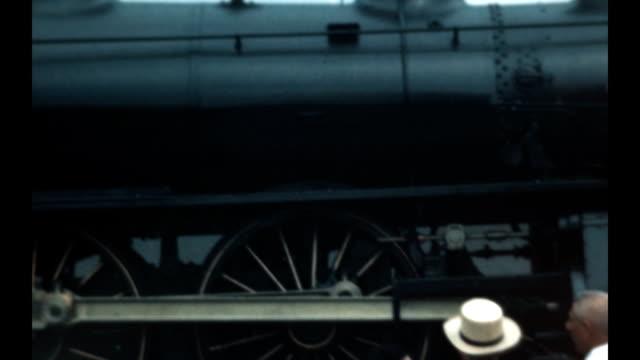 Locomotive Trains on display at the Railroad Fair