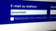 Anmeldung Internet Netzwerk