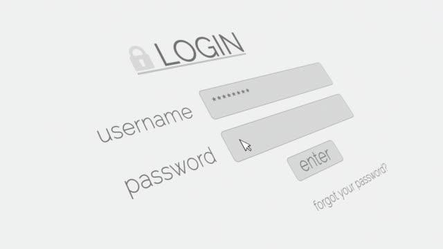 4K Login Page