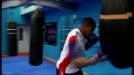 Anthony Joshua qualifies for Team GB ENGLAND London Joshua interview SOT On not getting the gold ** music overlaid on following shots SOT ** Various...