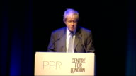Boris Johnson speech at Southbank Centre Boris Johnson speech continued SOT predict about a million visitors to London during Olympics/ stimulus to...