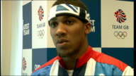 Profile on boxer Anthony Joshua Location Unknown Joshua interview SOT