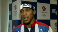 Profile on boxer Anthony Joshua Location unknown Anthony Joshua interview SOT