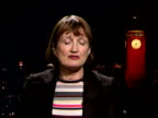 Select Committee report criticises handling of finances ENGLAND London GIR INT Tessa Jowell MP LIVE 2WAY interview from Westminster SOT On the...
