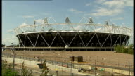 ticket ballot closes many people fail to get tickets Stratford General view of Olympic Stadium General view of Olympic Park construction site...