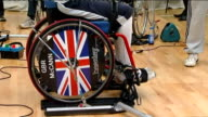 British athletes attend training camp in Bath ENGLAND Somerset Bath University of Bath INT Member of the Great Britain Paralympic shooting team...