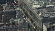 London Aerial: Selfridges, Oxford Street and Hyde Park