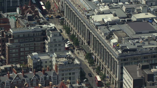 London Aerial: Selfridges, Oxford Street and Hyde Park