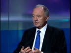 Blair announces taskforce to tackle muslim extremism ENGLAND London GIR INT Ken Livingstone interview SOT There is a small group of extremists and we...