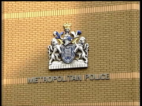 Haroon Rashid Aswat arrest in Zambia Links to bombers DATE ENGLAND London Metropolitan Police sign and coatofarms on building