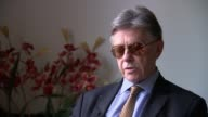 Alleged intelligence failings INT Nigel Inkster interview SOT