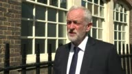 ITV News Special 0925 1000 London EXT Jeremy Corbyn interview SOT Absolutely shocked and horrified at what happened looking at the pictures of people...