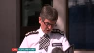 ITV News Special 0925 1000 Scotland Yard Commissioner Cressida Dick speaking to press SOT Thank you for coming / last night we saw another appalling...