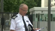 Met Police statement ENGLAND London New Scotland Yard EXT Assistant Commissioner Mark Rowley statement SOT re London Bridge attack and investigation