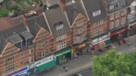 Police release details of weapons used DATE UNKNOWN London Barking road ZOOM IN flat windows above 'Paddy Power' shop