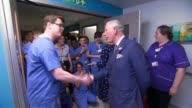 Prince Charles and Camilla visit hospital and police command centre PC Liam Dolphin interview SOT On fiance of Christine Archibald Royal London...