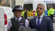 Sadiq Khan and Cressida Dick statement ENGLAND London London Bridge EXT Sadiq Khan and Cressida Dick statement SOT re London Bridge attack