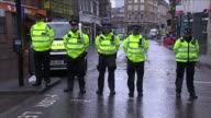 Third attacker and more victims named London EXT Big Ben striking 11 o'clock SOT Police officers standing silent as bongs sound SOT Paramedics...