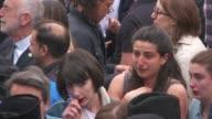 Vigil near Tower Bridge / Sadiq Khan interview People in crowd / Sadiq Khan interview SOT