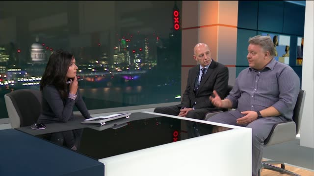 London cabbies to be trained in how to deal with terror attacks and medical emergencies ENGLAND London GIR INT Clive James LIVE STUDIO interview SOT...