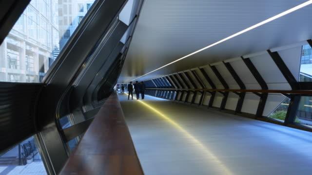 London Canary Wharf Adams Plaza Bridge (UHD