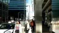 London Canary Wharf scena (4 k Ultra HD/HD)