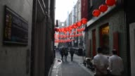 London celebrates Chinese New Year the celebrations are the largest outside Asia Performers celebrate the Year of the Monkey on February 14 2016 in...
