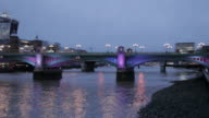 London City Skyline, River Thames, The City, London, England, United Kingdom