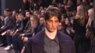 RUNWAY London Collections Men Topman Design A/W 2015 at Old Sorting Office on January 09 2015 in London England