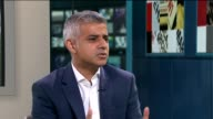 London councils accused of ignoring problem of overoccupancy ENGLAND London GIR INT Sadiq Khan LIVE STUDIO Interview SOT More and more examples of...