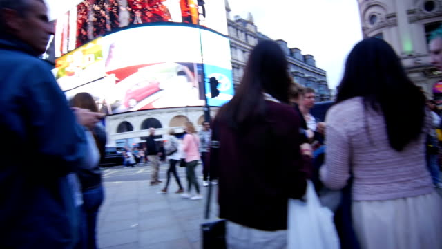 POV T/L London Coventry Street And Piccadilly Circus