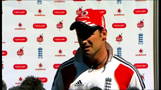 London EXT Andrew Strauss press conference SOT Anti corruption unit have done a great job / surprise that its reared its head again but player...