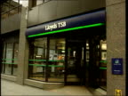 LIB ENGLAND London EXT Branch of Lloyds TSB bank PULL OUT Abbey National branch PAN CF = D0613085 or D0613086 002133 TO