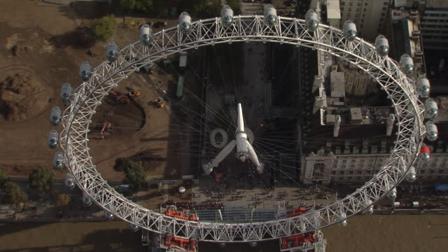 London Eye Overview by Helicopter