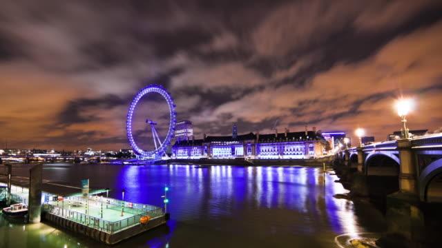London Eye time-lapse in London