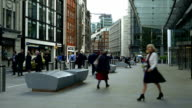 T/L London Fenchurch Street Scene (4K/UHD to HD)