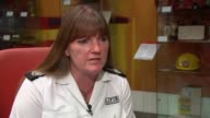 London Fire Bridgade warning on fire risk of faulty electrical goods ENGLAND London INT Commissioner Dany Cotton interview SOT re fire product safety...