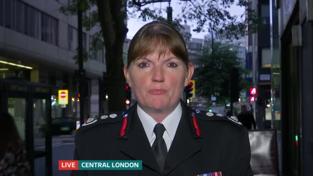 London Fire Commissioner Dany Cotton calls for end to use of term 'firemen' ENGLAND London EXT Dany Cotton LIVE 2WAY Interview ex London SOT