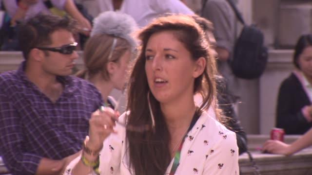 London General Views London Fashion Week Spring/Summer 2012 on September 14 2012 in London England