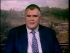 London GIR 2 way ex SCOTLAND Edinburgh INT Lewis Moonie MP interview SOT we've made no secret of the fact that we carried out tests to determine the...